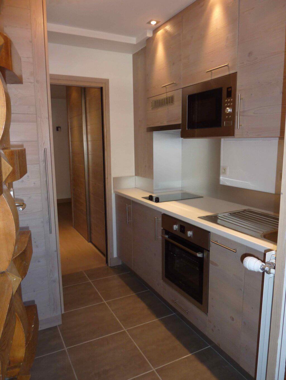 Rénovtion et aménagement d'un petit appartement à Val d'Isère
