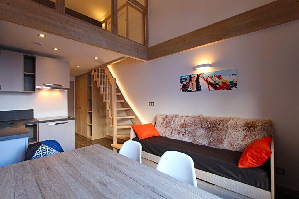 Rénovation et aménagement appartement locatif N°2 à Val d'Isère