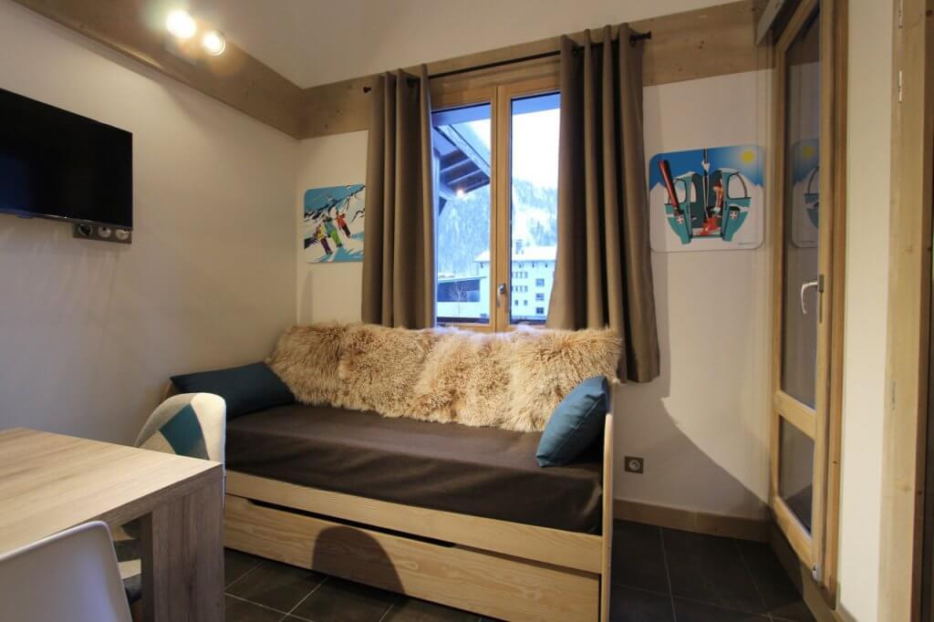 Rénovation et aménagement appartement locatif N°1 à Val d'Isère