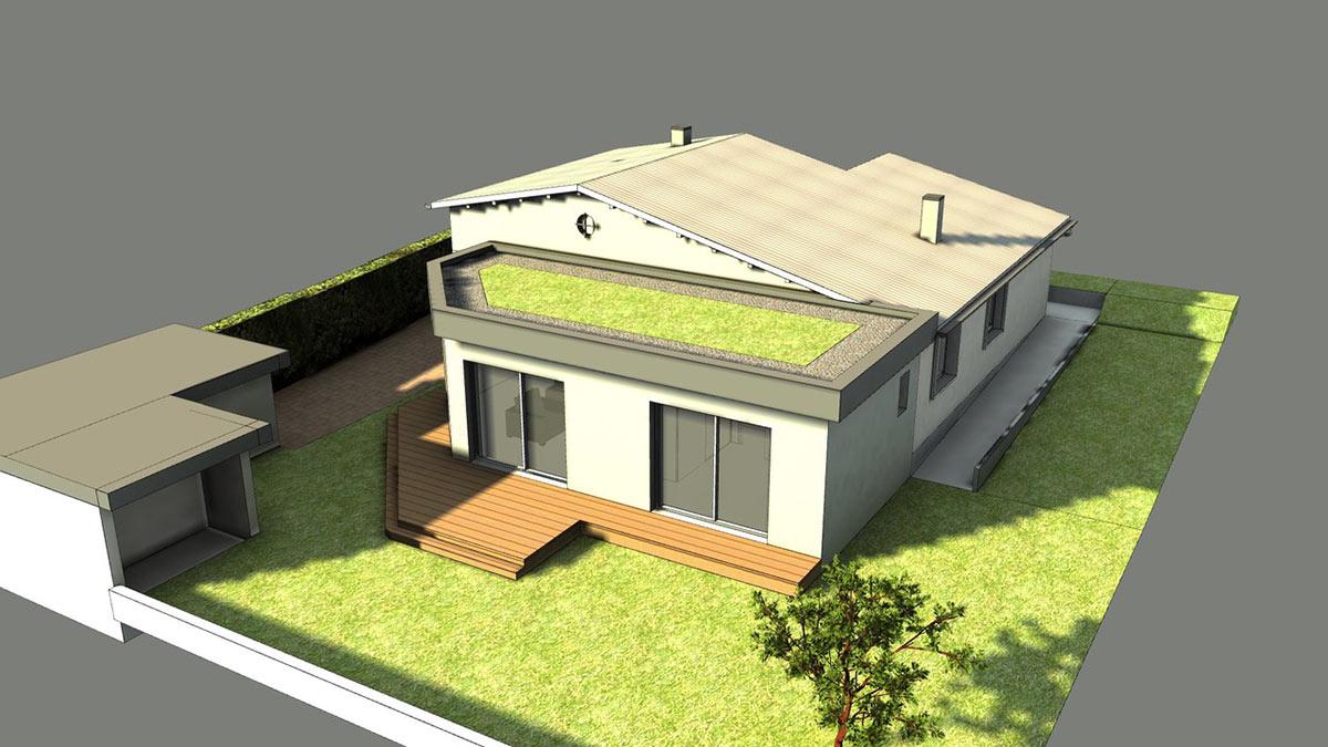 Extension d'une maison à Aix-les-Bains