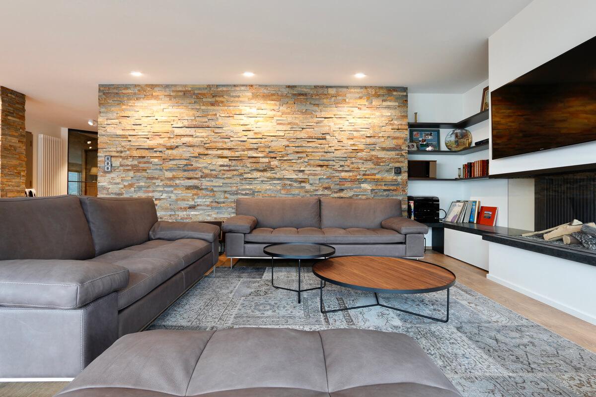 Transformation d'un vieil appartement en loft à Aix-les-Bains