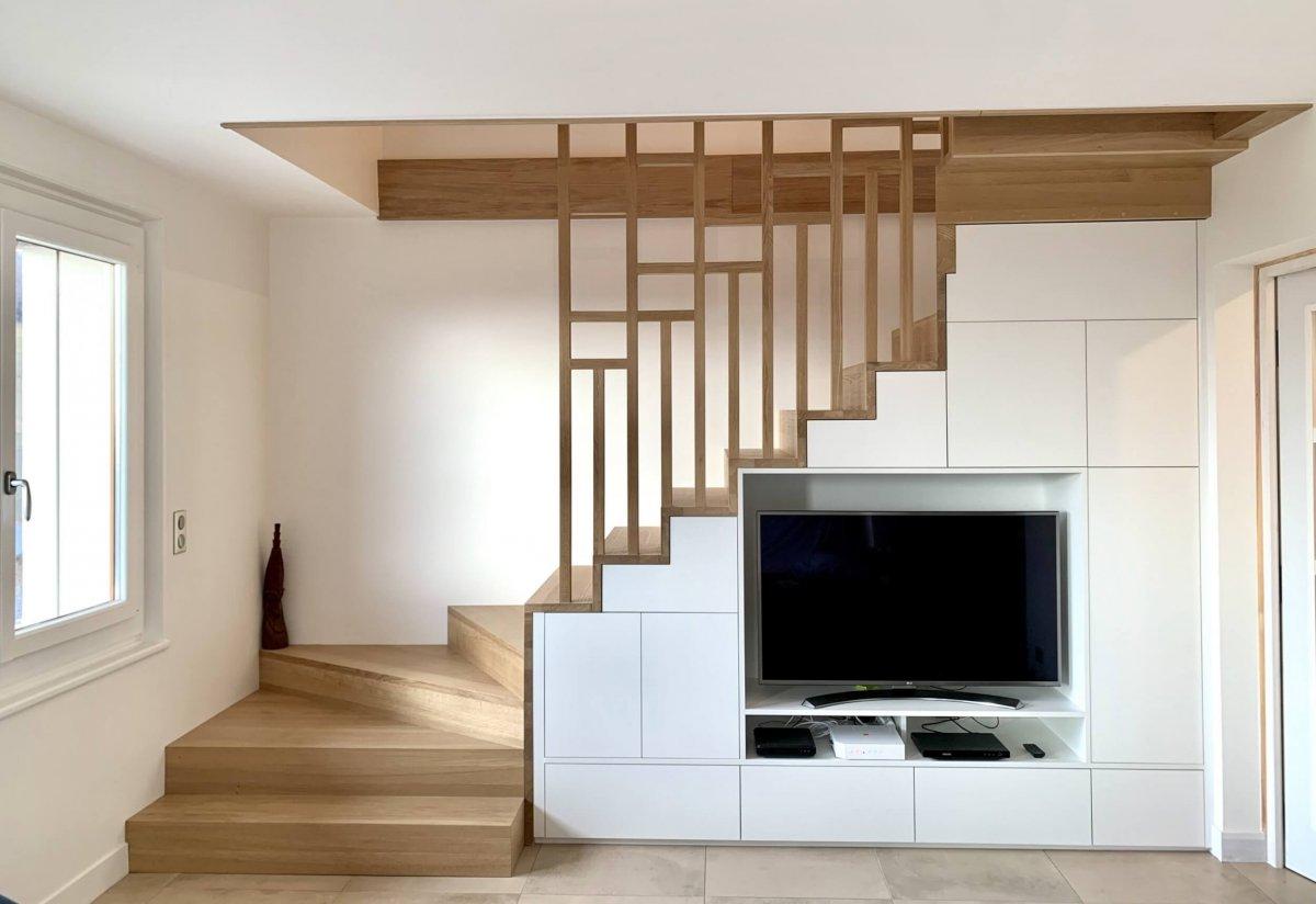 Rénovation et transformation d'une ancienne maison dans les hauteurs de la Haute-Savoie.